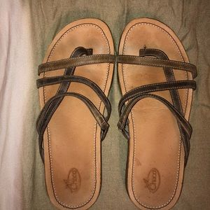 Chacos leather sandals